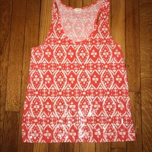 Jcrew tank with fun sequins